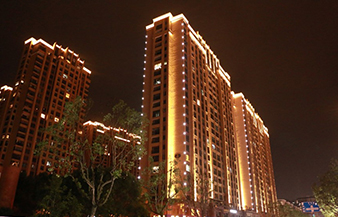 Reconstruction of Chengzhong Street, Lin'an, Hangzhou. The Lighting Projects For the Buildings.